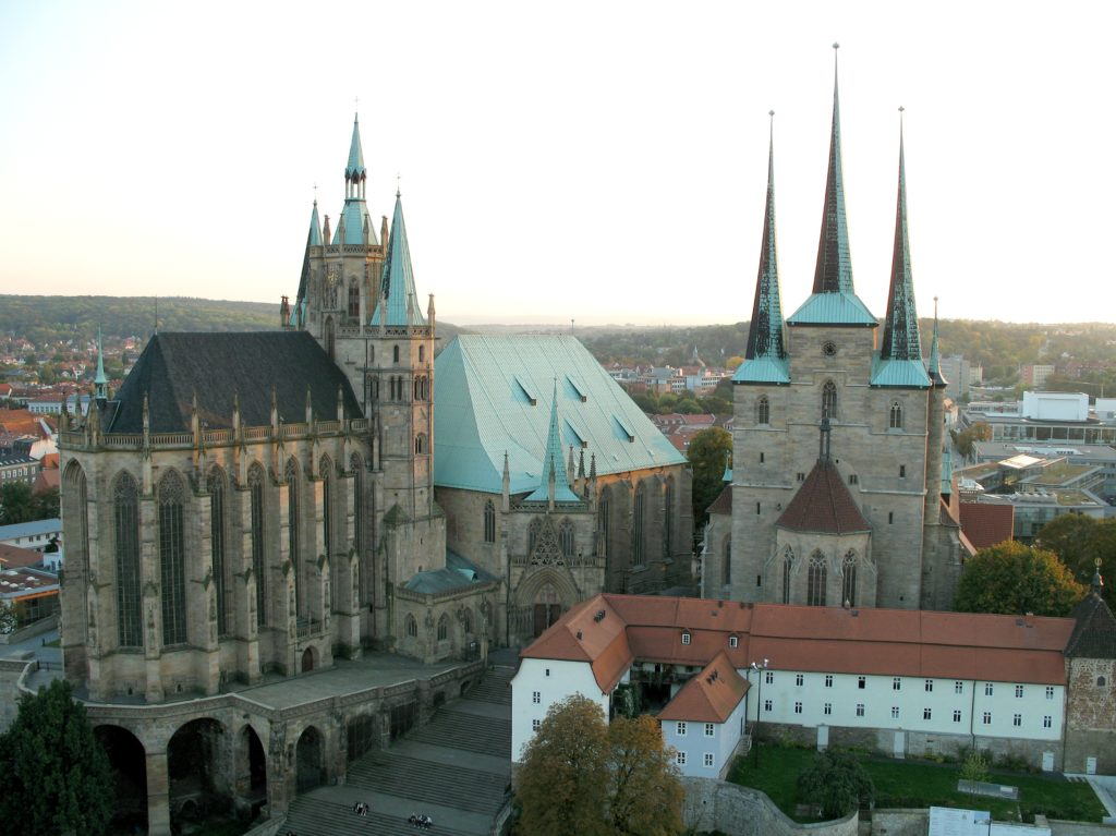 Erfurt_cathedral_and_severi_church
