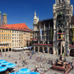la Plaza central de Munich o Marienplatz